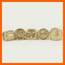 2000 2001 2002 2009 2010 LOS ANGELES LAKERS WORLD CHAMPIONSHIP RING, 5 PCS RING SET COLLECTION