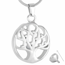9342	Tree of Life Memorial Cremation Necklace for Ashes Urn Pendant