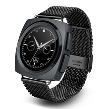 A11 Bluetooth4.0 Heart Rate Monitor Smart Watch 128MB RAM 64MB ROM Gesture motion Speaker Microphone Phonebook Smartwatch Phone