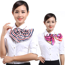 Magic small square scarf work uniforms/ wear /stewardess/Bank /front desk women scarves