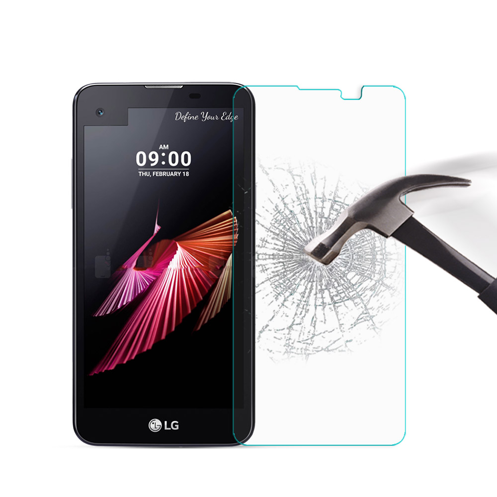 9H Hard Tempered Glass LG X Screen XScreen K500 K500N Screen Protector Protective Film LG X Case Phone Glass Cover