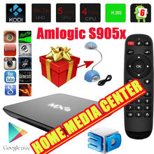 MXQ G9C S905X Quad Core Android 6.0.1 64-bit Smart Tv Box Full HD 1080P Support H.265 WIFI Home Media Center Plug And Play