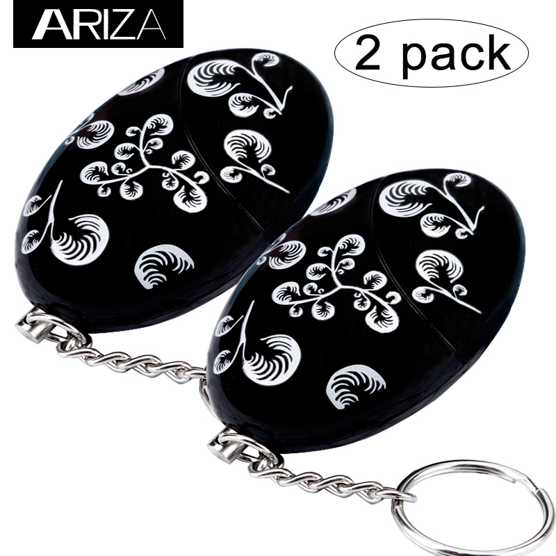 Amazon top supplier 2 pack Personal Alarm Keychain women girls elderly Self Defense