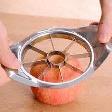 Kitchen Accessories Stainless Steel Vegetable Fruit Pear Apple Cutter Slicer Processing Salads Tools Picnic Fruit Slicer(China)