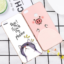 Lovely 3D Pandas Deer Case Cover For Xiaomi Mi 4 Mi4 Cute Flower Relief Hard Phone Shell For Xiaomi Mi4c Mi 4c 4S 4i Mi4i Mi4s(China)