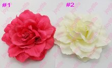 free shipping 2017 Newest  45pcs daisy gerbera flower clips peony hair clip mix lily flower clips and rose flower clips  3c