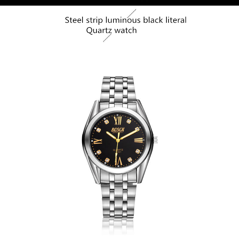 High-grade stainless steel with ultra-thin quartz watch<br>