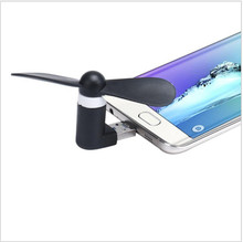New 2 in1 Mini Micro USB Mobile Phone Fan Portable Flexible Mini USB Fan for PC Tablets Android Smartphones