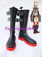 Freeshipping Game The King of Fighters KOF Ash Crimson Cosplay Boots shoes Custom made for Halloween Christmas(China)