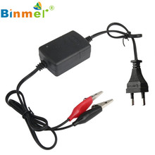 Hot Sale! High Quality Solid construction Car Truck Motorcycle 12V Smart Compact Battery Charger Tender Maintain EU Plug Jan9#(China)