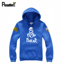 Mens Clothing The Paris Dakar Cars Rally Commemorative Sweatshirts Hoodies Men Casual Print Hoodie Extreme Challenge Tracksuit