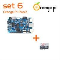 Orange Pi Plus 2 SET6: Orange Pi Plus 2+ 8GB SD Card for Orange Pi Beyond Raspberry