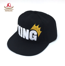 Letter KING Kids Baseball Cap Child Flag Snapback Hats Baby Hat Fashion Hip Hop Adjustable Caps For Children Unisex hats