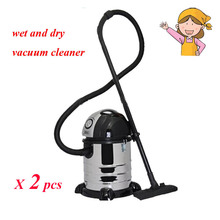 2pcs/lot 2016 New Upright  Water Filtration Vacuum Cleaner Washing Wet and Dry Vacuum Cleaning Mop for Housewife