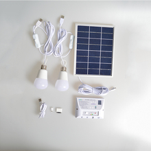 Solar Lighting System 4.5w Portable Solar Power System/camping kits home use solar syste YH1002