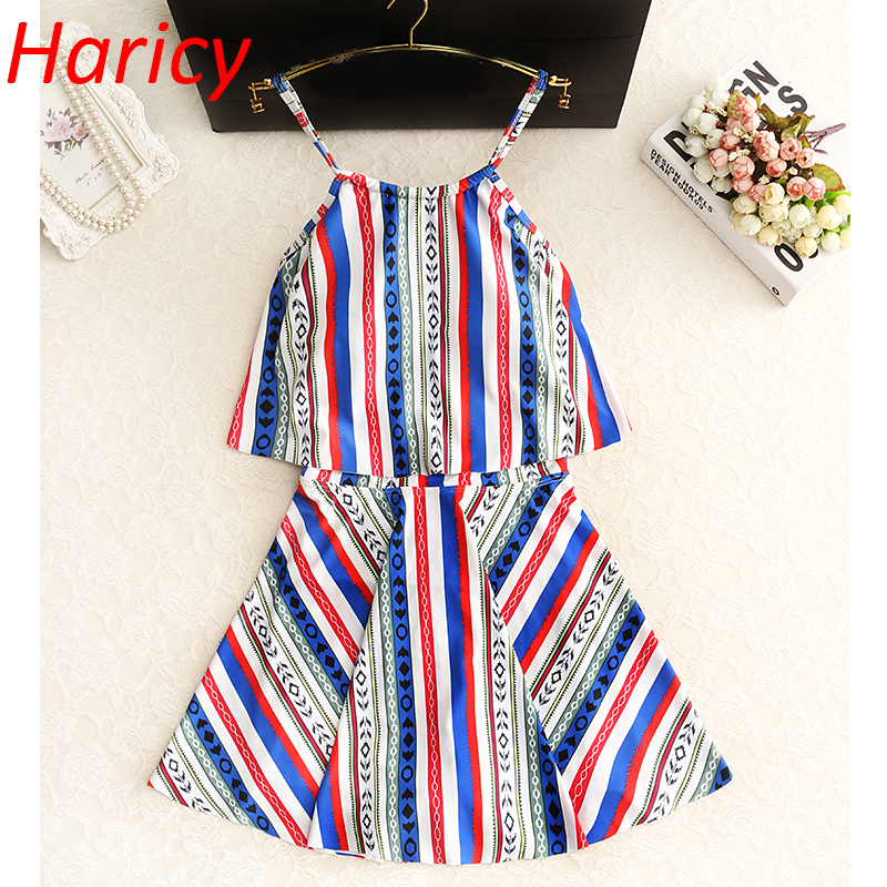 Sexy Red Striped 2018 One piece Swimwear Women Skirt Bandage Swimsuit Push up One-piece Bathing suit Hollow Beachwear Dress<br>