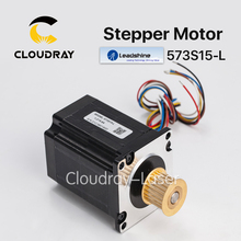 Cloudray Leadshine 3 phase Stepper Motor 573S15-L NEMA23 24 Teeth 3M Timing Pulley for CO2 Laser Engraving Cutting Machine(China)