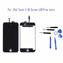 For Apple iPod Touch 4 4G Original Screen LCD Display Disaply Panel Screen Touch Digitizer With Free Tools Assembly With Track.