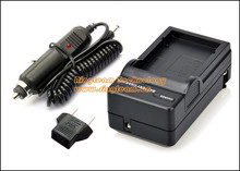 Travel KLIC-5001 K5001 Battery Charger with Car Adapter for Kodak Cameras Easyshare P850 P880 DX6490 DX7440 DX7590 DX7630 Z730(China)