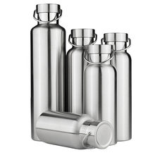 Stainless Steel Double Wall Vacuum Cup Insulated Water Bottles Coffee Mug Travel Drink Vacuum Flasks 350/500/650/700/1000ml