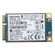 Unlocked F5521GW Wifi Wireless 3G WWAN Card GPS Mini PCI-E WCDMA HSPA + EDGE/GPRS/GSM 21Mbps Ericsson for Dell Windows 2000 XP