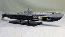 rare ATLAS 1: 350 The US Navy World War II ace submarine Uss barb Alloy static submarine model Collection model Holiday gifts(China)