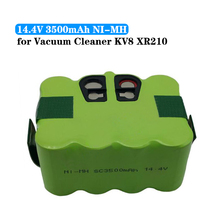 NI-MH 14.4V 3500mAh vacuum Cleaner Replacement Battery for KV8/Cleanna XR210/Fmart R-770 FM-018 FM-058/KAILY 310 570 580