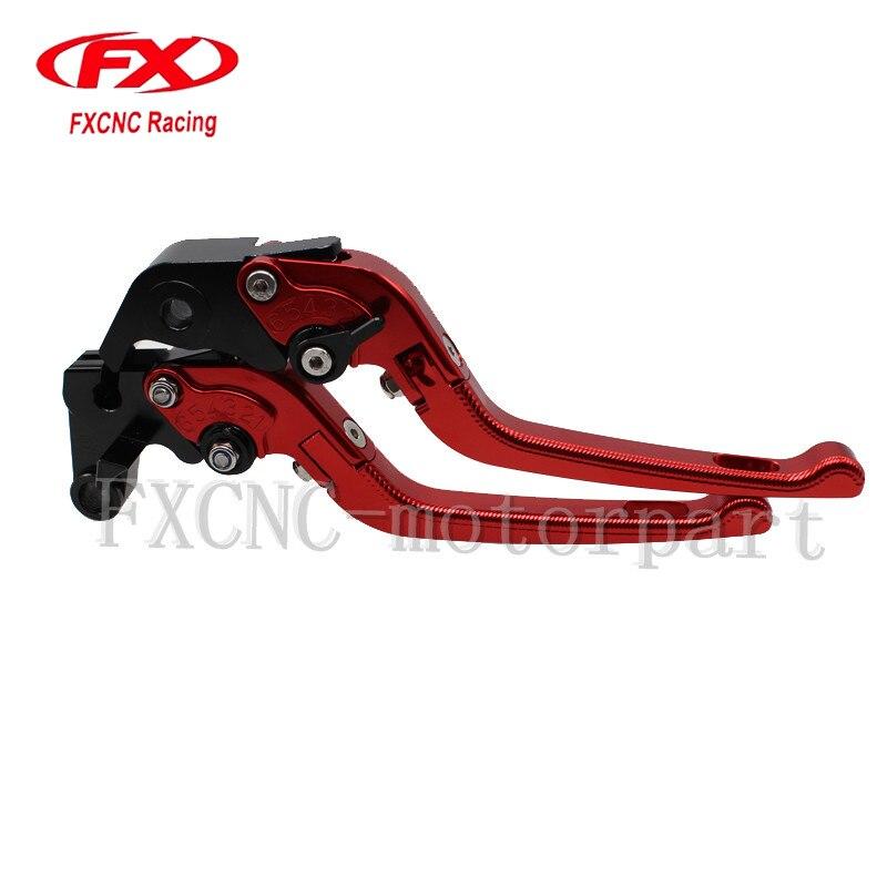 FXCNC CNC 3D Folding Adjustable CNC Brake Clutch Levers Fit For SUZUKI  Bandit GSF650 2005 Bandit GSF 600 2004 GS500F<br>