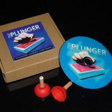 2013 NEW Tiny Plunger / The Best Card magic prop product / Free shipping/Close up magic+ DVD,magic tricks,gimmick(China)