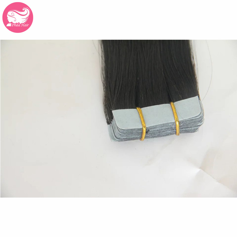 Mongolian Virgin Double Tape Hair Extensions 40pcs/set Silky Straight Double Drawn Tape In Hair 20pcs Glue Skin Weft Human Hair<br><br>Aliexpress