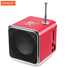 TD - V26 Portable Micro SD / TF Music Player Digital LCD Display FM Radio Speaker Stereo Loudspeaker For Laptop Mobile Phone MP3