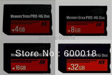 h2testw test real Capacity MS HG 4GB 8GB16GB 32GB 64GB Memory Stick Pro Duo Memory Cards NOTE: PSP NO Crack Can no use THIS(China)