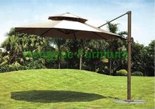 Patio aluminium beach umbrella supplier,rainy and sunny umbrella
