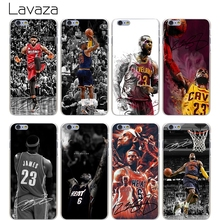 Buy Lavaza High Phone Cases Lebron James Hard Transparent Cover Case iPhone X 10 8 7 6 6S Plus 5 5S SE 5C 4 4S Hot Sale for $1.23 in AliExpress store