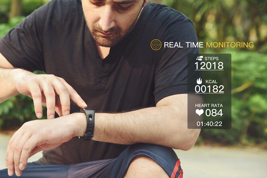 COLMI Smart band DM11 3D Dynamic UI Fitness tracker Bracelet Heart rate Monitor Wristband IP68 Waterproof 9