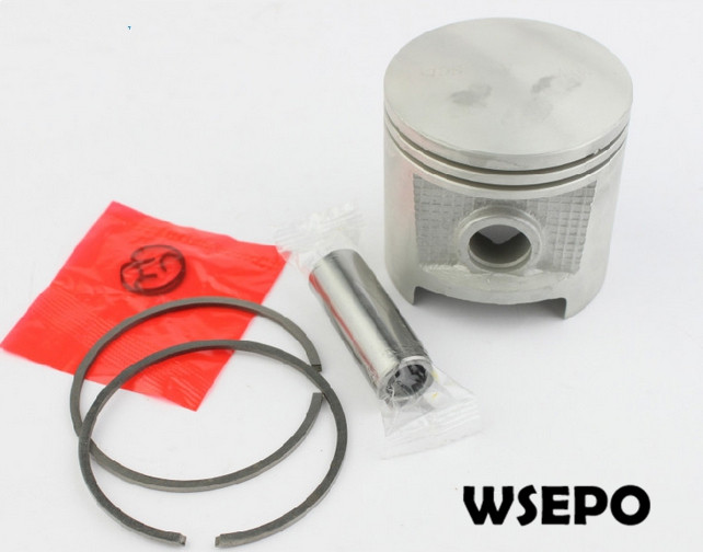 Top Quality! Piston+Rings+Pin+Circlip(04 PC)Kit for MS070 Small Gasoline 02 Stroke Chainsaw/Wood Spliter/Log Cutting Machine<br>