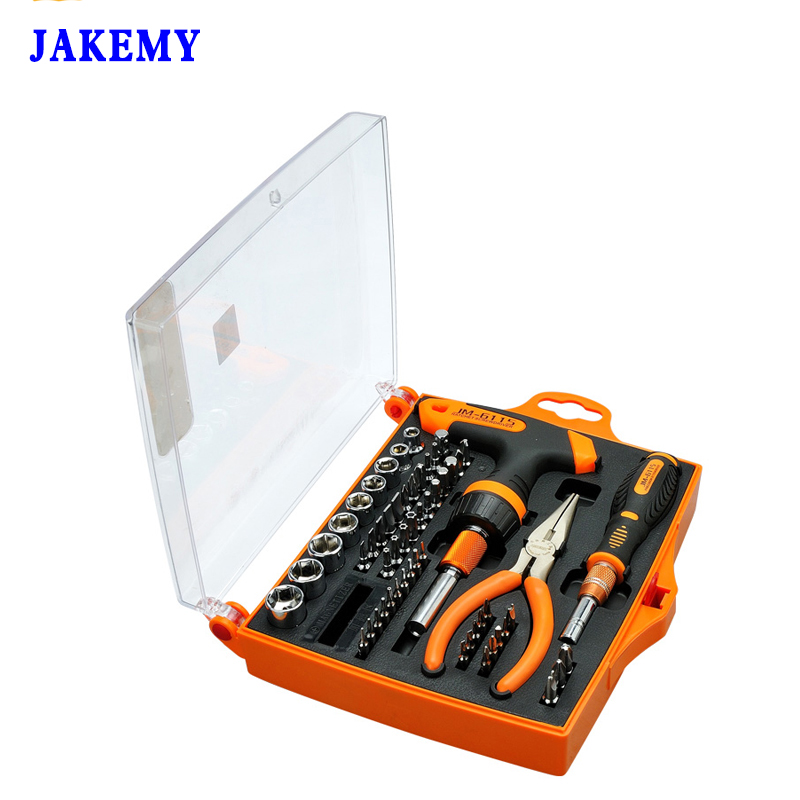 Professional 60 in 1 Ratchet Handle Screwdriver Set Household Tool Kit For Cellphone Tablet Laptop Electronics<br>