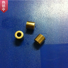 3*8*6mm Copper base powder metallurgical parts Powder Metallurgy oil bushing  porous bearing Sintered copper sleeve