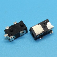 5pin SMT Power DC Jack Connector Socket, Hole dia 2.5mm Pin 0.7mm, Size 9.5x5.3x4mm, Commonly used in Tablet PC