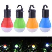 3 LEDs Outdoor Camping Tent Hanging Adventure Lanters Lamp Portable LED Light Hunting hut Fishing Garden Lamp Bulb drop shipping(China)