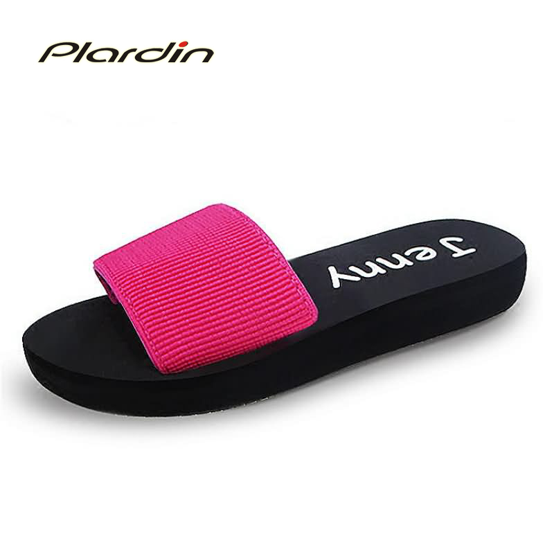 plardin 2017 Fashion Summer Casual Womens Flip Flops Flat Sandals Shoes For Women Flip Flops Beach Sandals Shoes Woman<br><br>Aliexpress