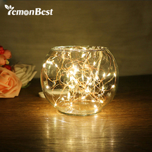 LED Copper Wire String Wedding Decoration Light 8 Modes Auto Timing Function Fairy Christmas Lights Outdoor RGB/ Warm White(China)