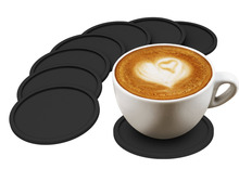 1PC Amazing Quality Drink Coaster Sleek Modern Design. Prevents Furniture Damage, Absorbs Spills and Condensation