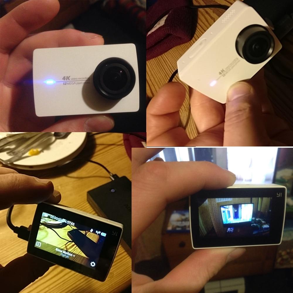 yi 4k action camera real photo