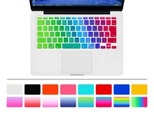"HRH Japanese Colorful Rainow Japan JP Silicone Keyboard Cover Skin Protector film membrane for Apple MacBook Air 11"" 11.6 Inch"