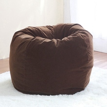 Removable Bean Bag Chair Leisure Sofa Bed Living Room Corner Furniture Bean Bag Lazy Sofa Computer Chair Sillones Puff Para Sofa