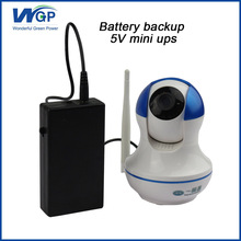 long warranty portable ups power supply 5v compact lithium ion mini ups for cctv camera(China)