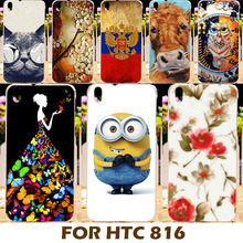 Top Selling Painting Design Hard Plastic Cases For HTC Desire 816 Case 800 D816W 816G 816w Cell Phone Cover Shell Protective Bag