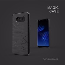 for Samsung galaxy s8 & s8+ silicone case cover Nillkin magic TPU back case for Samsung galaxy s8 plus