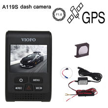 "Original VIOFO A119S Upgraded V2 2.0"" Super Capacitor Novatek 96660 HD 1080p GPS Car Dashcam Camera DVR CPL hardwire cable"